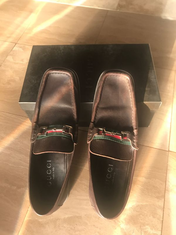 b80286ddf36 Men s brown Gucci Loafers Size 11D for Sale in Boynton Beach