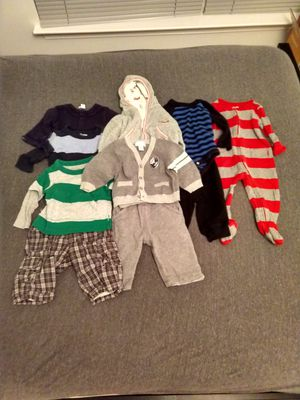 Winter boys clothes size 3-6 months for Sale in Germantown, MD