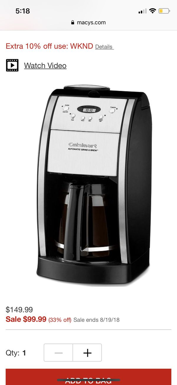 New And Coffee Makers In Hesperia Ca Offerup