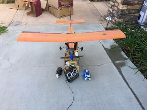 Remote controlled gas engine airplane for Sale in Riverside, CA