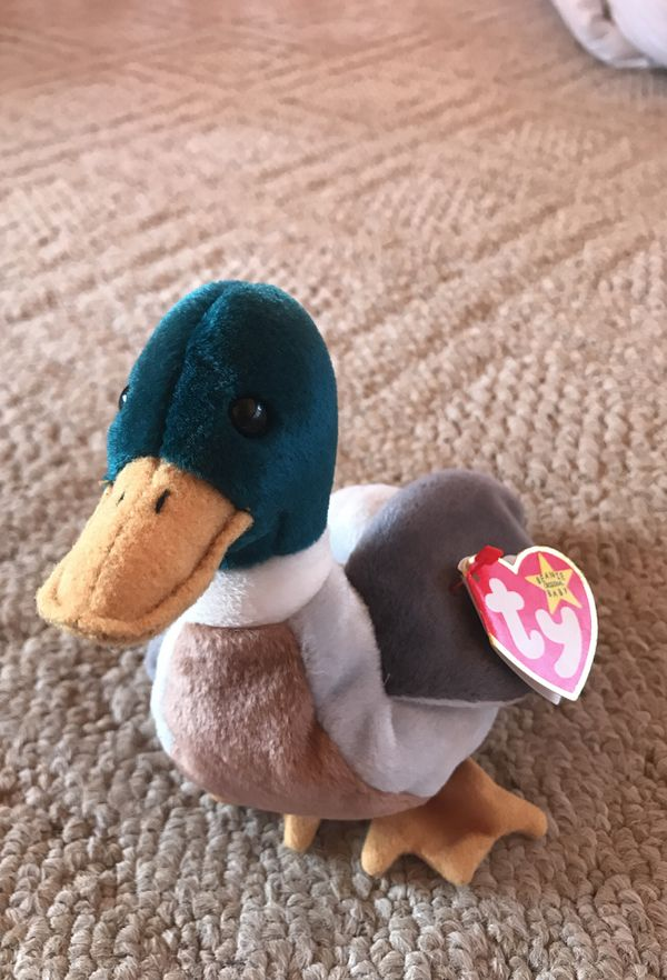 Jake beanie baby (rare) w tag errors for Sale in Jenner 557d449b60f