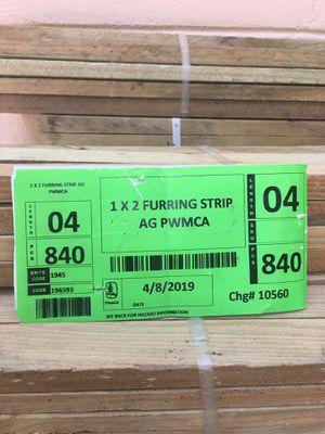 1x2 furring strip AG Pwmca for Sale in Deltona, FL - OfferUp