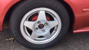 Honda Wheels Size 14 wheels wrapped in kumho tires for Sale in Alexandria, VA