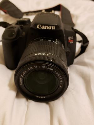 Canon EOS Rebel T5i DSLR Camera with 18-55mm Lens for Sale in Tijuana, MX