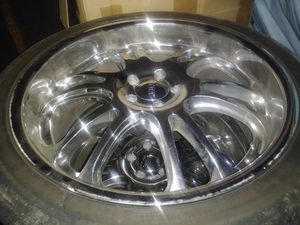 22 inch rims for Sale in Saint Charles, MO