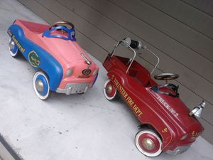 Vintage collectible toy pedal cars diecast for Sale in Saint Cloud, FL