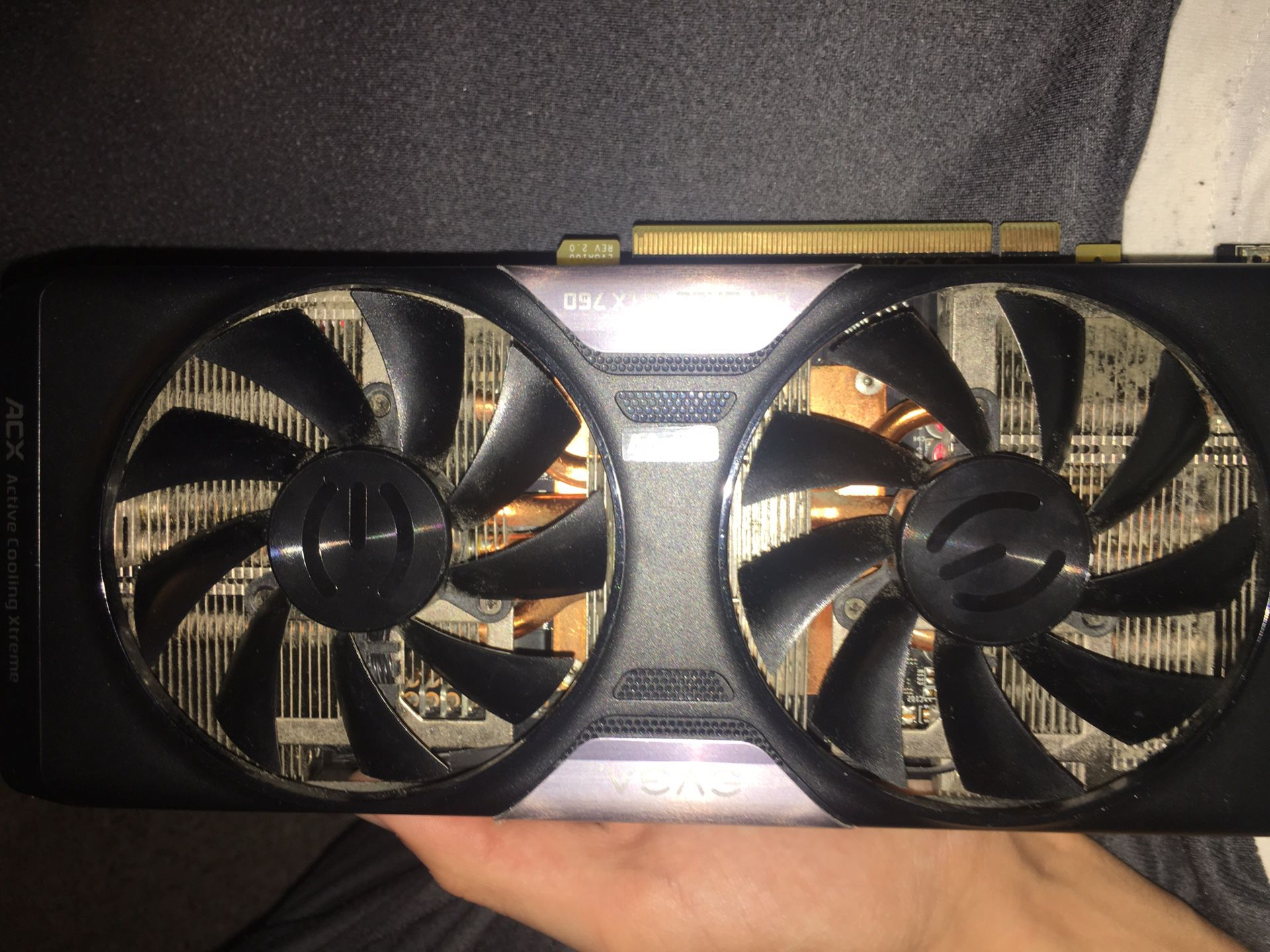 NOT FUNCTIONING! Gtx750 graphics card