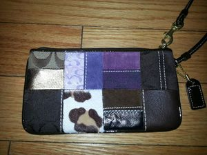 Authentic Coach Patchwork Wristlet for Sale in Orlando, FL