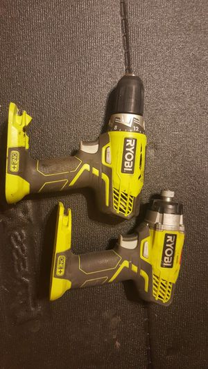Ryobi drill and impact no battery or charger. for Sale in Washington, DC