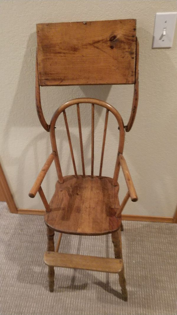 - Antique Vintage Baby Doll High Chair For Sale In Olympia, WA - OfferUp