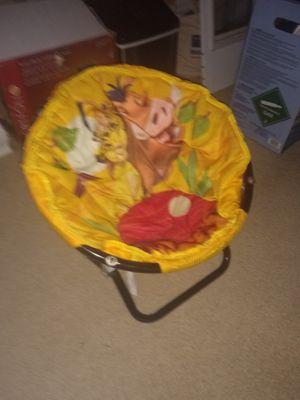 Photo Lion King chair