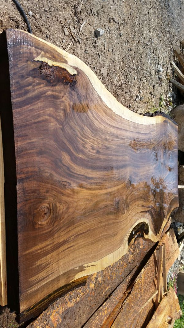 Kiln dried black walnut live edge table bar top slabs for Sale in  Arlington, WA - OfferUp