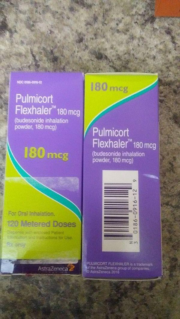 Pulmicort Flexhaler 180mcg For Sale In Gilbert Az Offerup