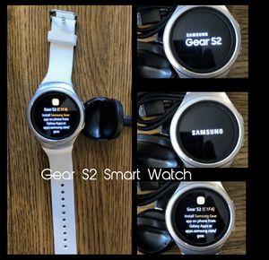 Samsung Gear S2 Smart Watch (White) for Sale in Arlington, VA