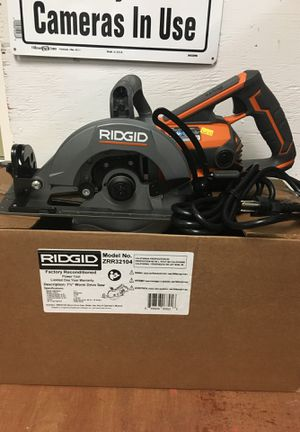 Ridgid worm drive saw 7 1/4 inch for Sale in Rock Hill, SC