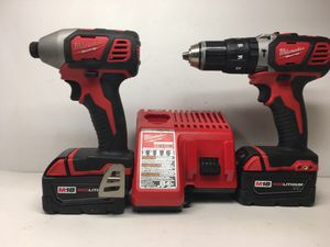 Milwaukee M18 Combo Set 66638/13 for Sale in Federal Way, WA