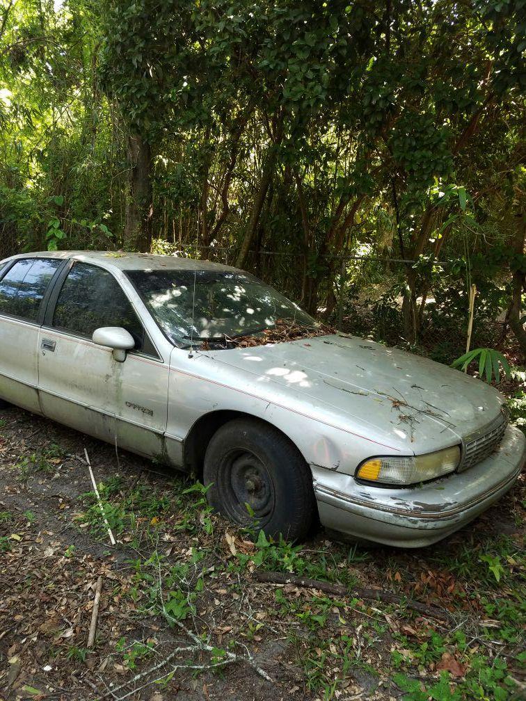 Chevy caprice & ford Ranger 1500 for both