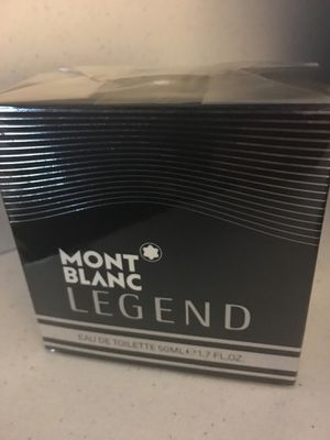 """93a0c0922b MONT BLANC """"LEGEND"""" MENS COLOGN 1.7 OZ for Sale in Pomona"""