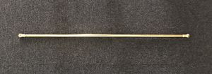 Thin Gold Rod: Used for Sheer/Light Hallway Curtains for Sale in Washington, DC