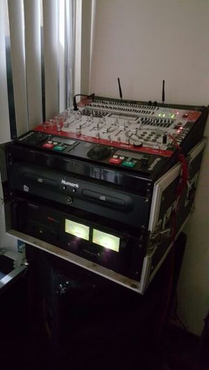 Dj equipment with two speakers for Sale in Washington, DC