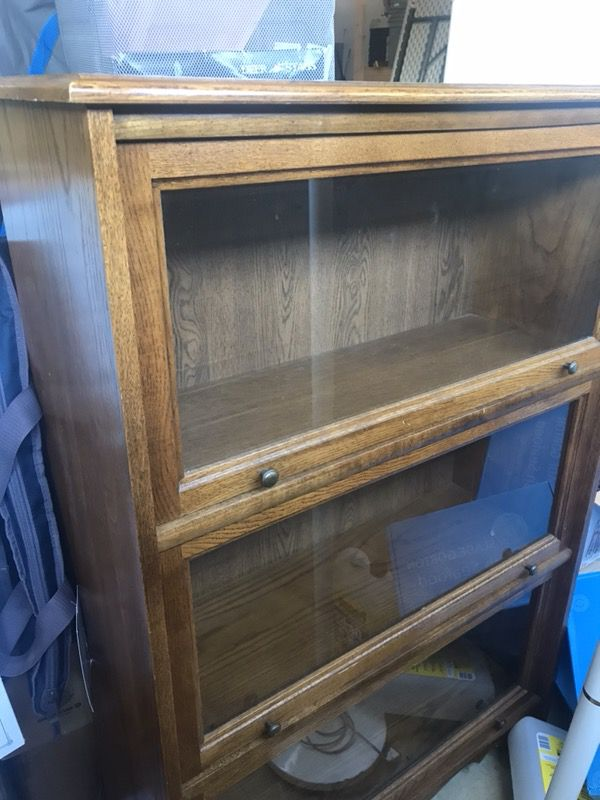 Barrister Bookcase Lawyers Bookcase With Four Doors For Sale In Salisbury Nc Offerup