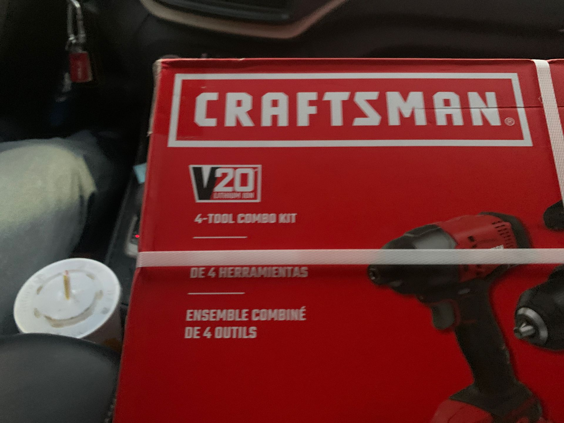 Craftsman v20 4 tool combo kit I have the gift reciept that has the full amount u can exchange at Home Depot