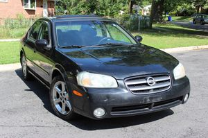$998 DOWN - Take Home a 2003 Maxima !! CD player Keyless remote Cold AC alloy Rims fits 5 people for Sale in Alexandria, VA