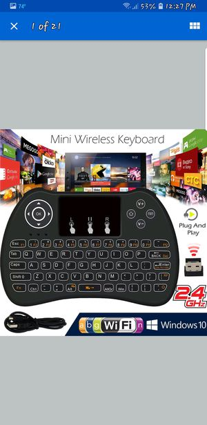 JAILBROKEN!!!MXq PRO! BRAND NEW! AND WIRELESS H9 KEYBOARD! for Sale in Cleveland, OH