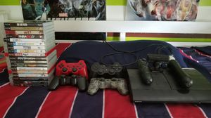 PS3 slim with PS move bundle for Sale in Arlington, VA