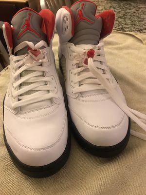 Air Jordan's Metallic 5s for Sale in Crofton, MD