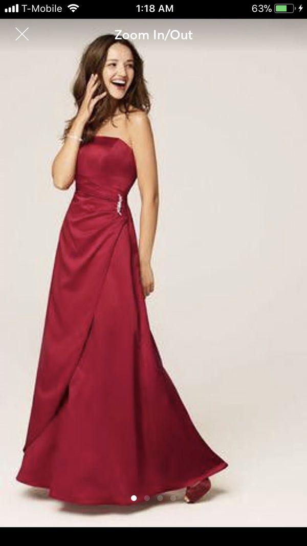 Davids Bridal Prom Dress For Sale In Dearborn Mi Offerup
