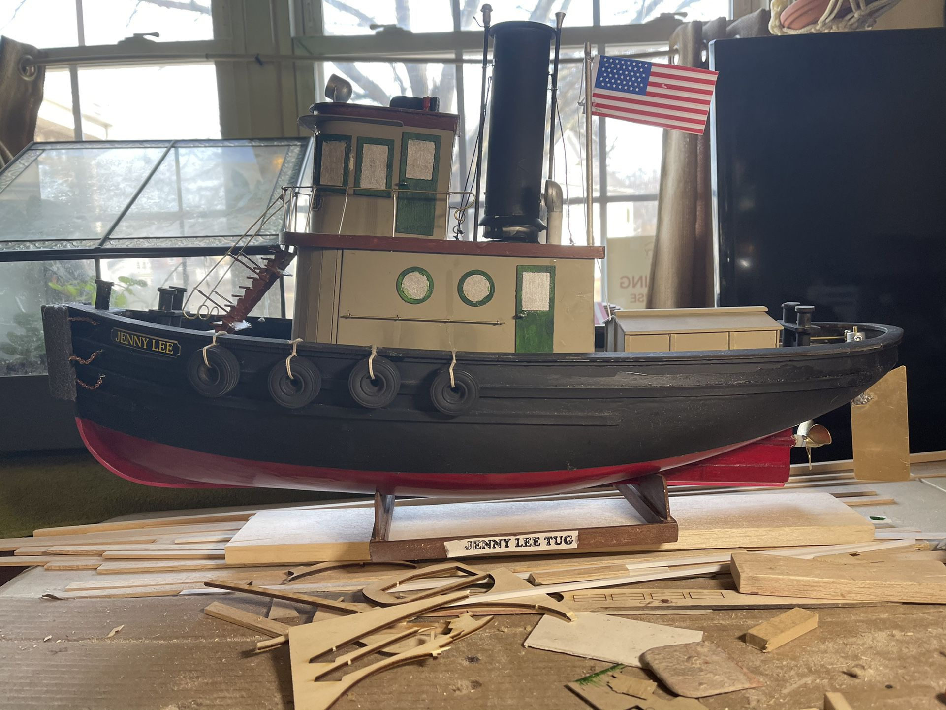 Photo Made By Hand Jenny Lee Tug Boat Remote Control