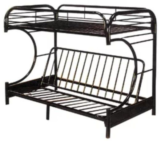 Twin over Full Futon Bunk Bed Frame ONLY! for Sale in Austin, TX ...