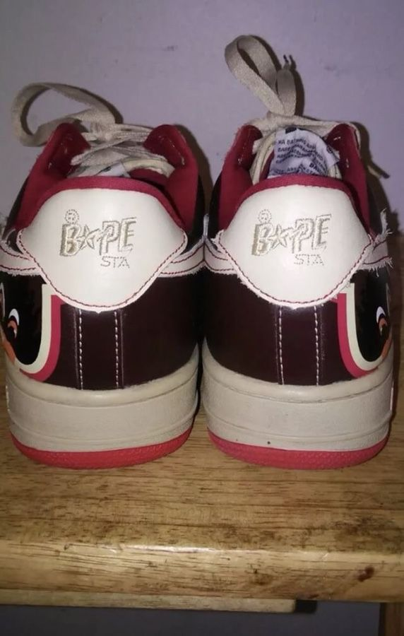 5ad75e3a621 ... Bathing Ape Bapesta Kanye West College Dropout Shoes (Clothing Shoes)  in Las Vegas