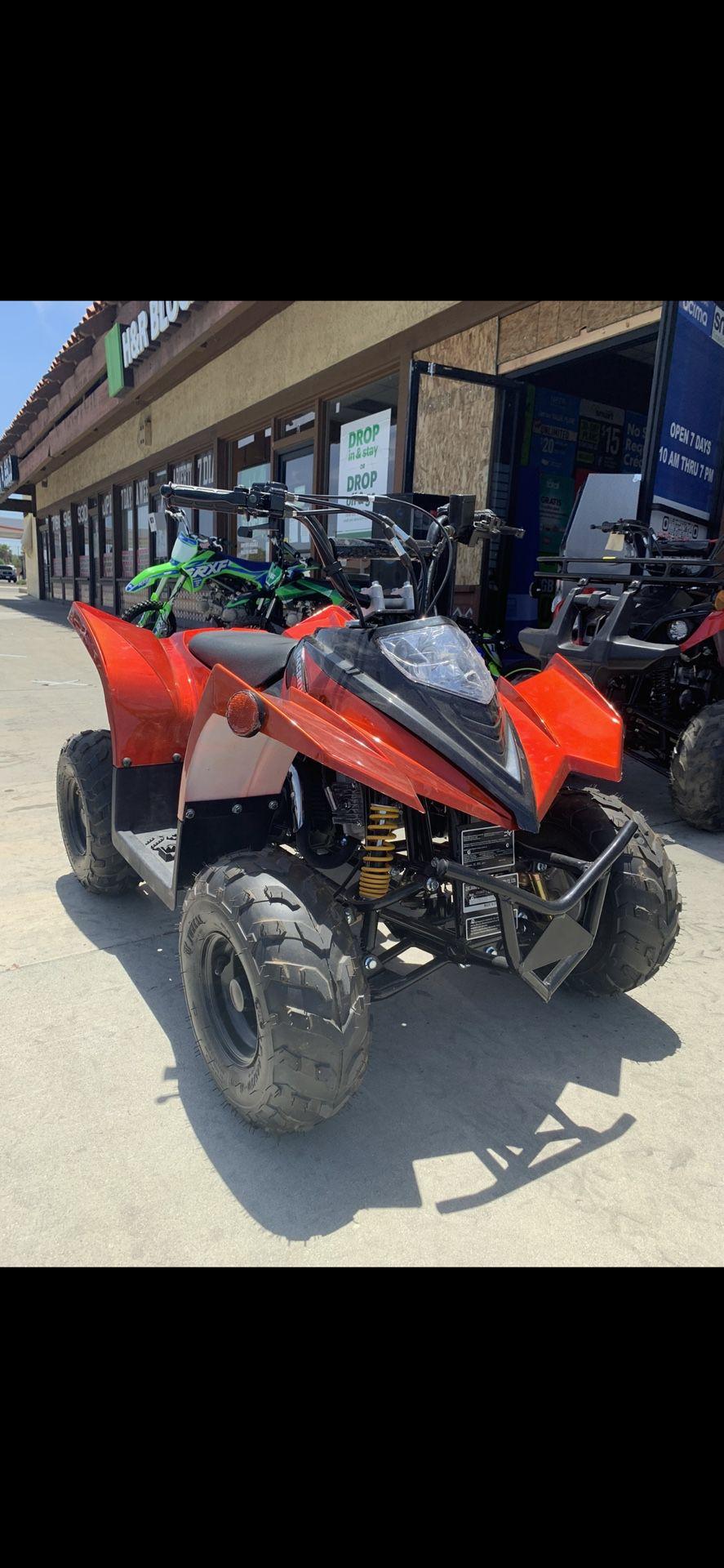 Photo 110 Cc Gas Quad Atv Dirt Bike Brand New