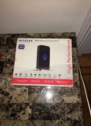 NETGEAR N600 Wireless Dual Band Router for Sale in Midlothian, VA
