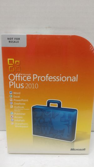 Microsoft Office Professional Plus 2010 for Sale in Pittsburgh, PA