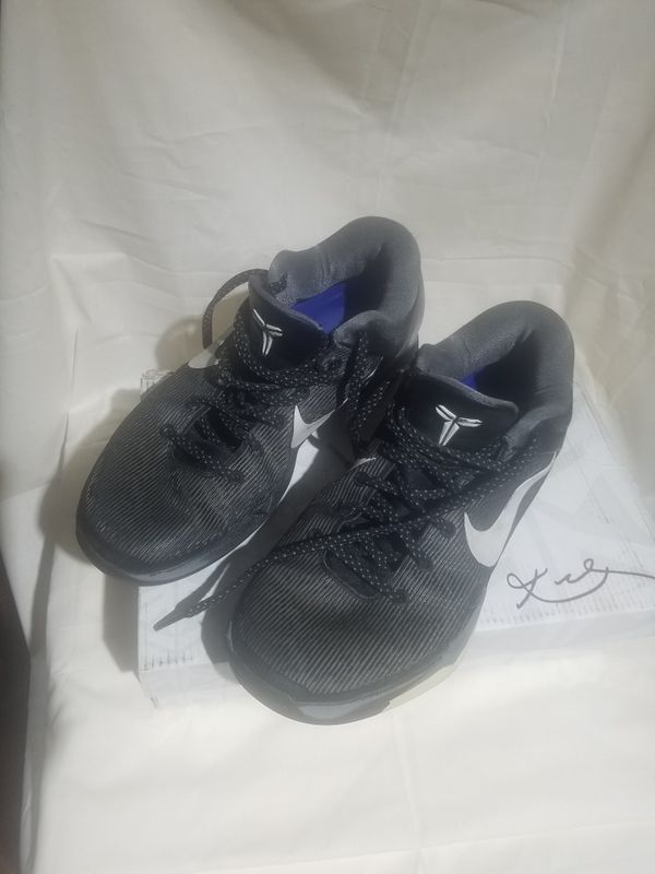 1516fe210085 Nike Zoom Kobe VII 7 System Black Wolf Grey for Sale in Alhambra