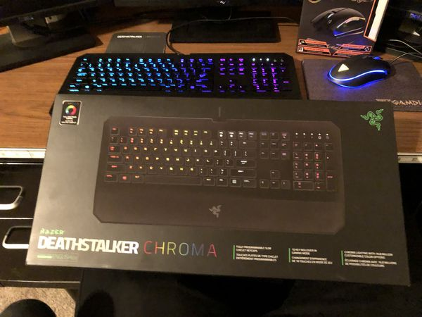 cbfbd3b547d *RARE* Razer Deathstalker Chroma RGB and RGB mouse combo for Sale in  Scottsdale, AZ - OfferUp
