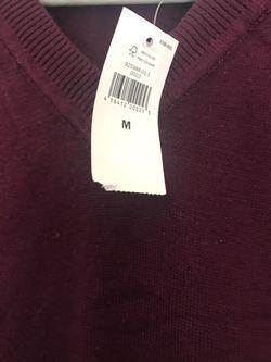 Banana Republic V-Neck Sweter Vest Men Size M Thumbnail
