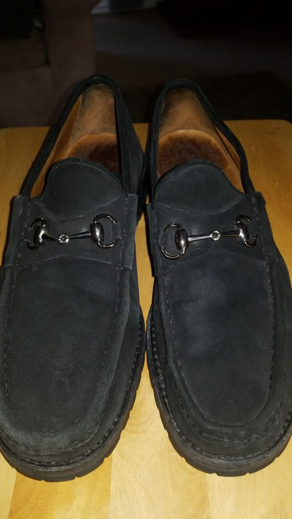 b2a6e6dc1 Vintage Gucci Mens horse bit slip on/loafer size 12 for Sale in ...