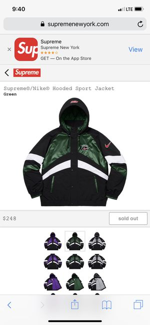 0e7d9d276 New and Used Supreme jacket for Sale in Fountain Valley, CA - OfferUp