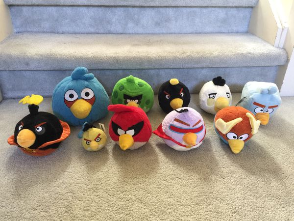 Lot Of 10 Angry Birds Plush Toys For Sale In Bellevue Wa Offerup