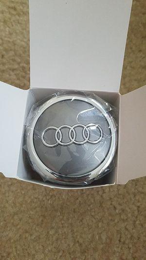Audi A4 Center Wheel Caps Chrome/Grey 69MM 4 PK (NEW) for Sale in Reston, VA