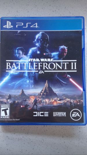 STAR WARS BAATLEFRONT II PS4 GAME for Sale in Cleveland, OH