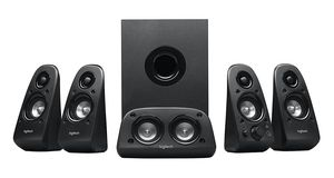 Logitech Z506 Surround Sound Home Theater Speaker System w/ 3D Stereo for Sale in Hawthorne, NJ