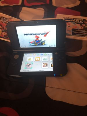 Nintendo 3Ds xl new galaxy style comes with 10 games for Sale in Augusta, GA