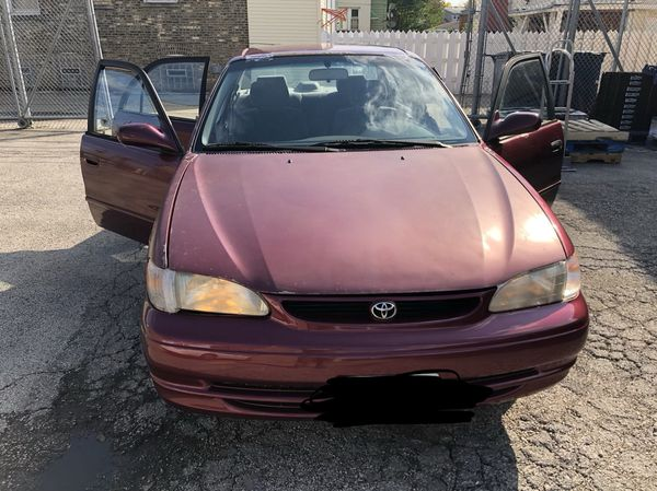 1998 Toyota Corolla For Sale In Chicago Il Offerup