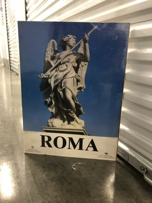 Vintage Roma Picture! Wall art good condition for Sale in Washington, DC