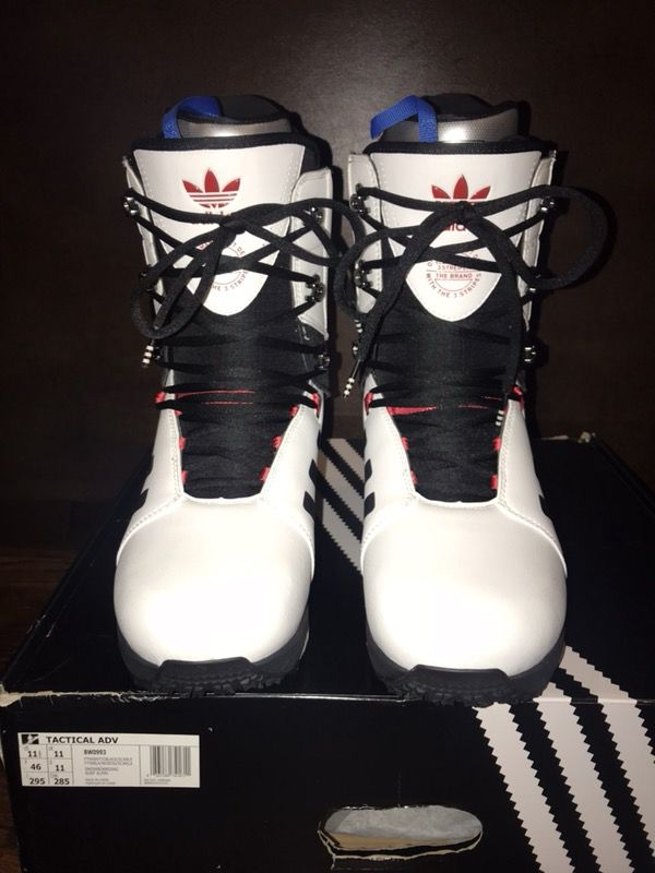 detailed look bfce7 312b3 Adidas TACTICAL ADV SNOWBOARD BOOTS boost size 11.5 17 18